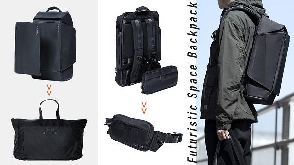 バックパック+トート+ボディバッグが1つに!臨機応変に使える「3in1バッグ」日本上陸プロジェクトが開始