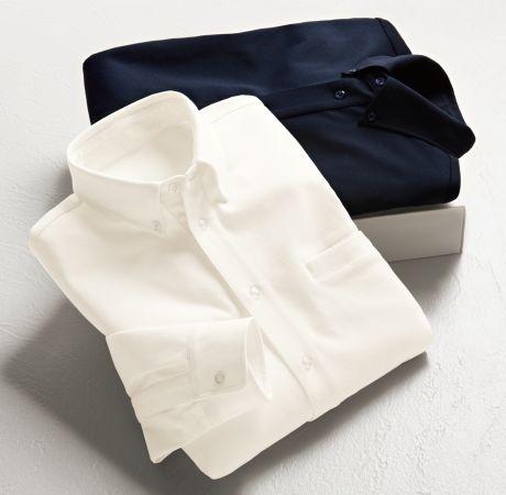 上品な見た目なのに着心地はTシャツ級!セシール、夏のビジネスシーンにぴったりのYシャツを新発売