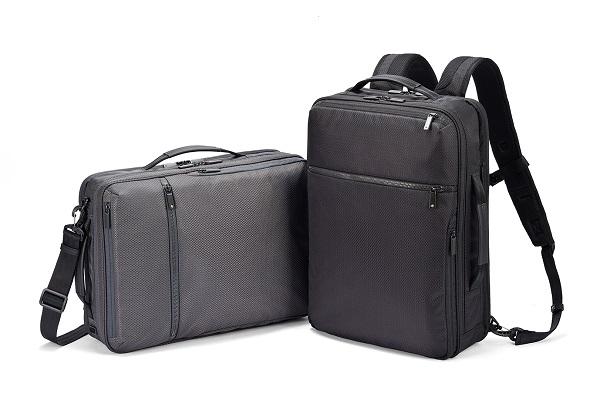 重い荷物の持ち運びも安心!電車内で邪魔になりにくい「ビジネスリュック」に、強度にこだわった限定モデル登場