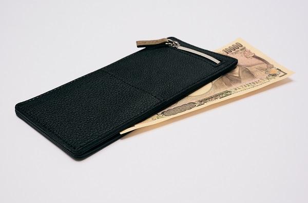 """""""クリアファイル""""仕様だからスリムでコンパクト!厚さ6ミリの「ミニマム財布」登場"""