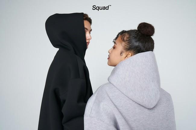 Tシャツとパーカーのみ展開!新しいD2Cストリートアパレルブランド「Squad」誕生