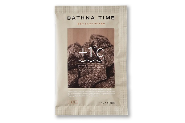 サウナーの新しい選択肢!自宅でサウナ気分を楽しめる、体験型入浴剤「BATHNA TIME」登場