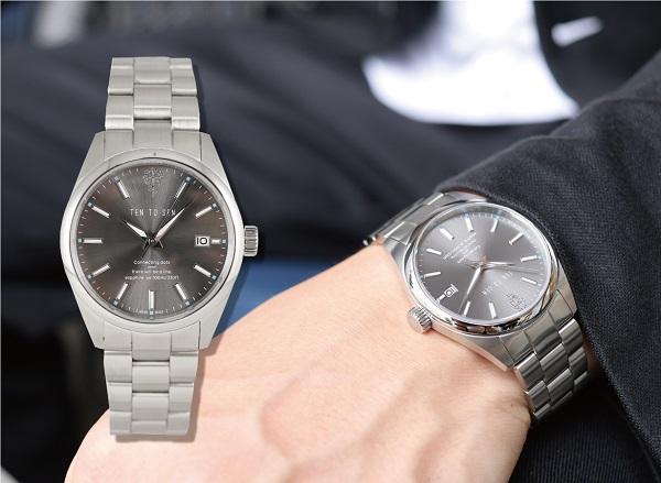 やっぱり惹かれる、機械式時計!5万円以下の「TEN TO SEN-テントセン-」先行販売スタート