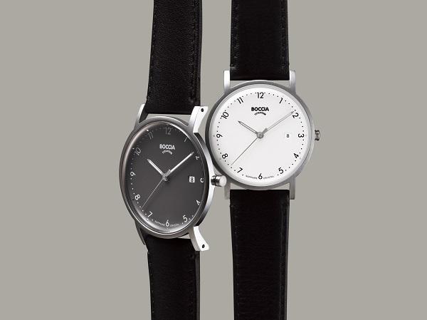 ミニマルデザインでスッキリした印象に!高品質・ストレスフリーなドイツ時計ブランド「BOCCIA」登場