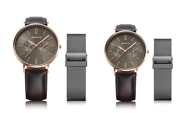 シックな手元が今の気分!デンマーク発「BERING」より、人気シリーズの新色腕時計が登場