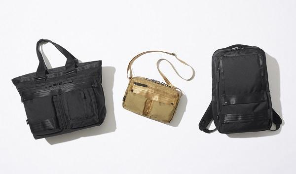 ビジネス・プライベート・トラベルに使えるバッグシリーズ「ミルフューズ」が登場