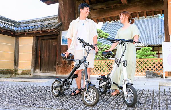 折りたたんでも転がせる、スタイリッシュな電動折りたたみ自転車『BORNTORUN GX』登場